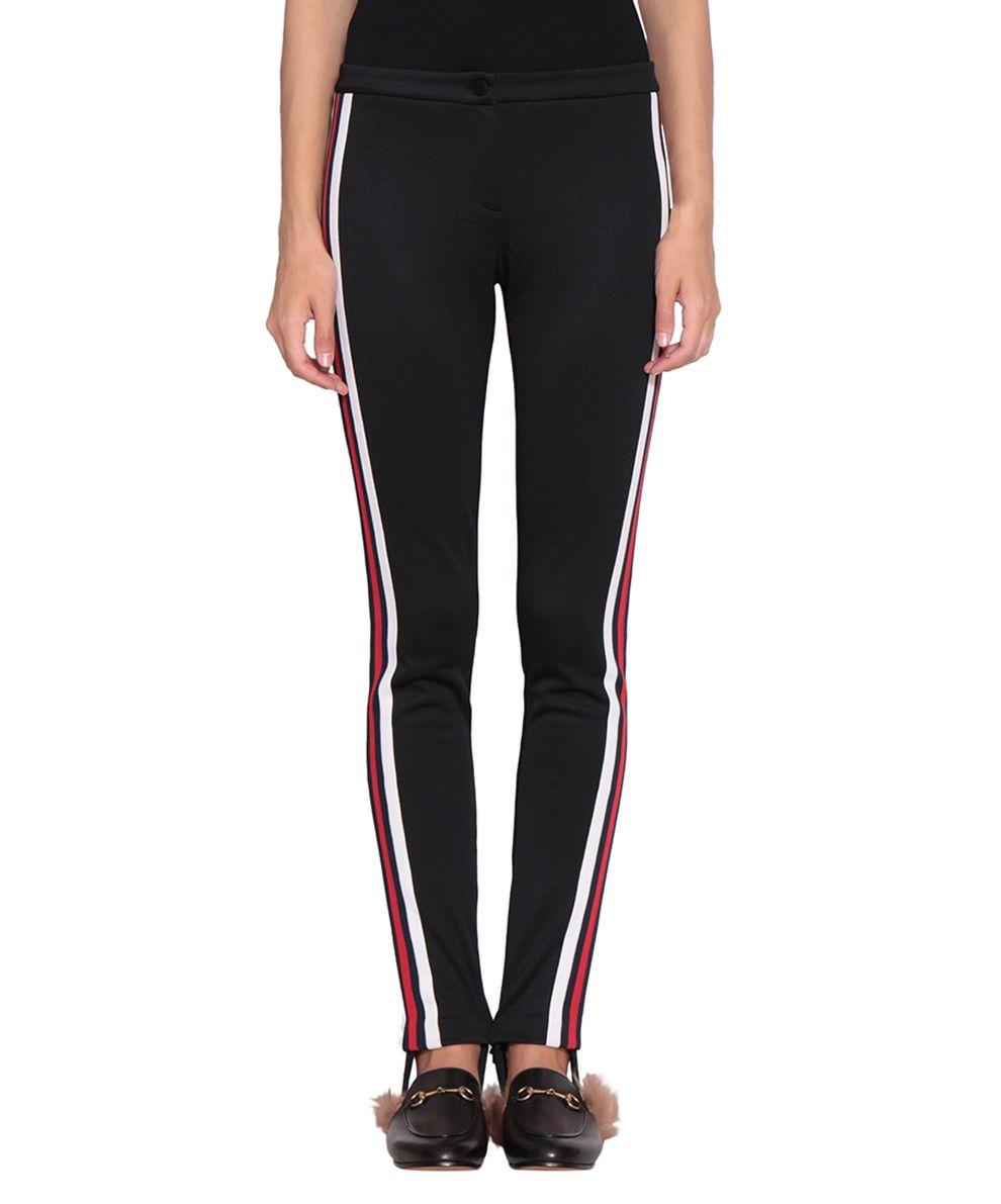 d440489a4f4 Gucci Jersey Stirrup Leggings With Sylvie Web