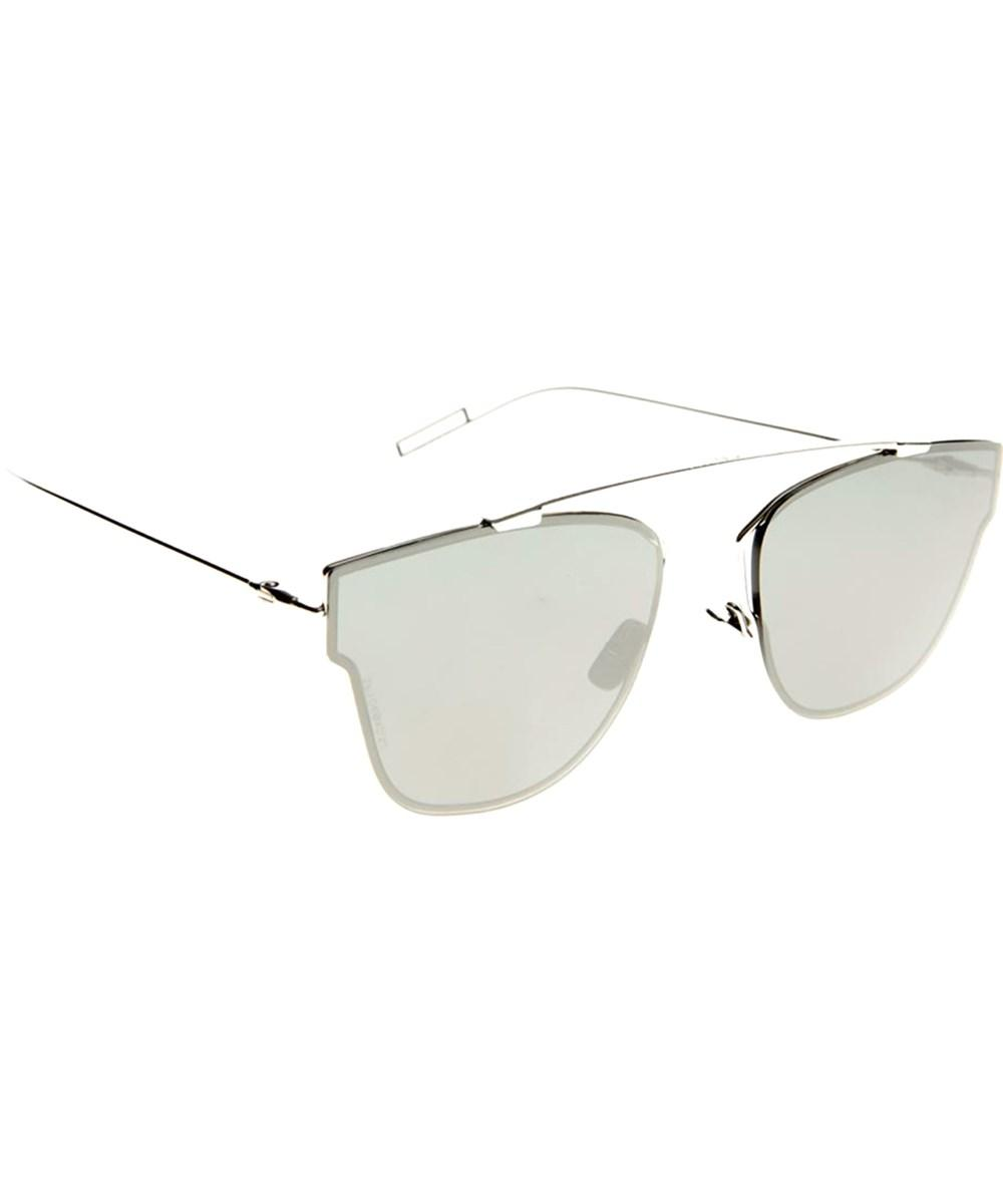 Dior Unisex Round Metal Sunglasses' In Palladium