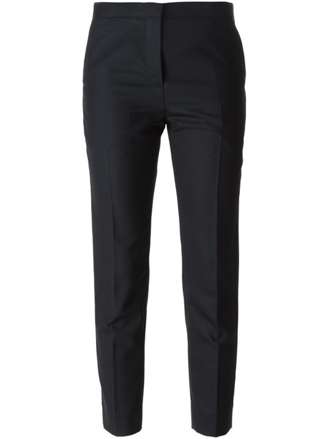 Marni Cropped Trousers - Blue In 00b99 Blubl
