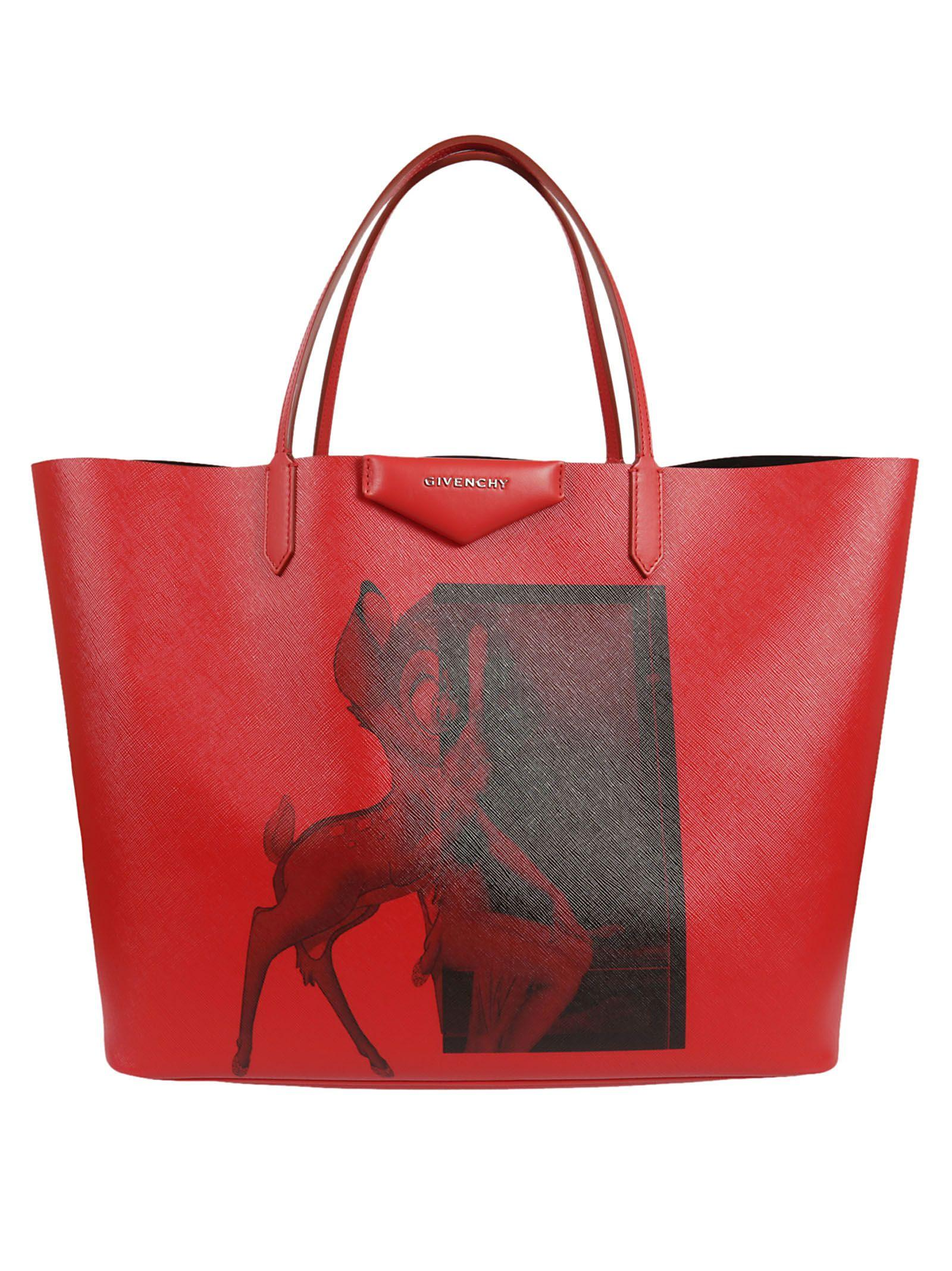 3abbcf9d2f Givenchy Antigona Coated Canvas Shopper Tote Bag