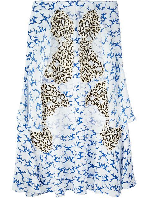 Stella Mccartney Embroidered Skirt