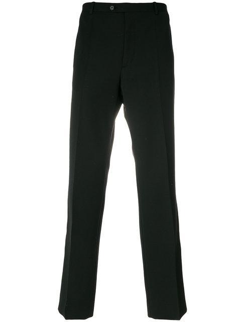 Maison Margiela Straight-Leg Trousers - Black