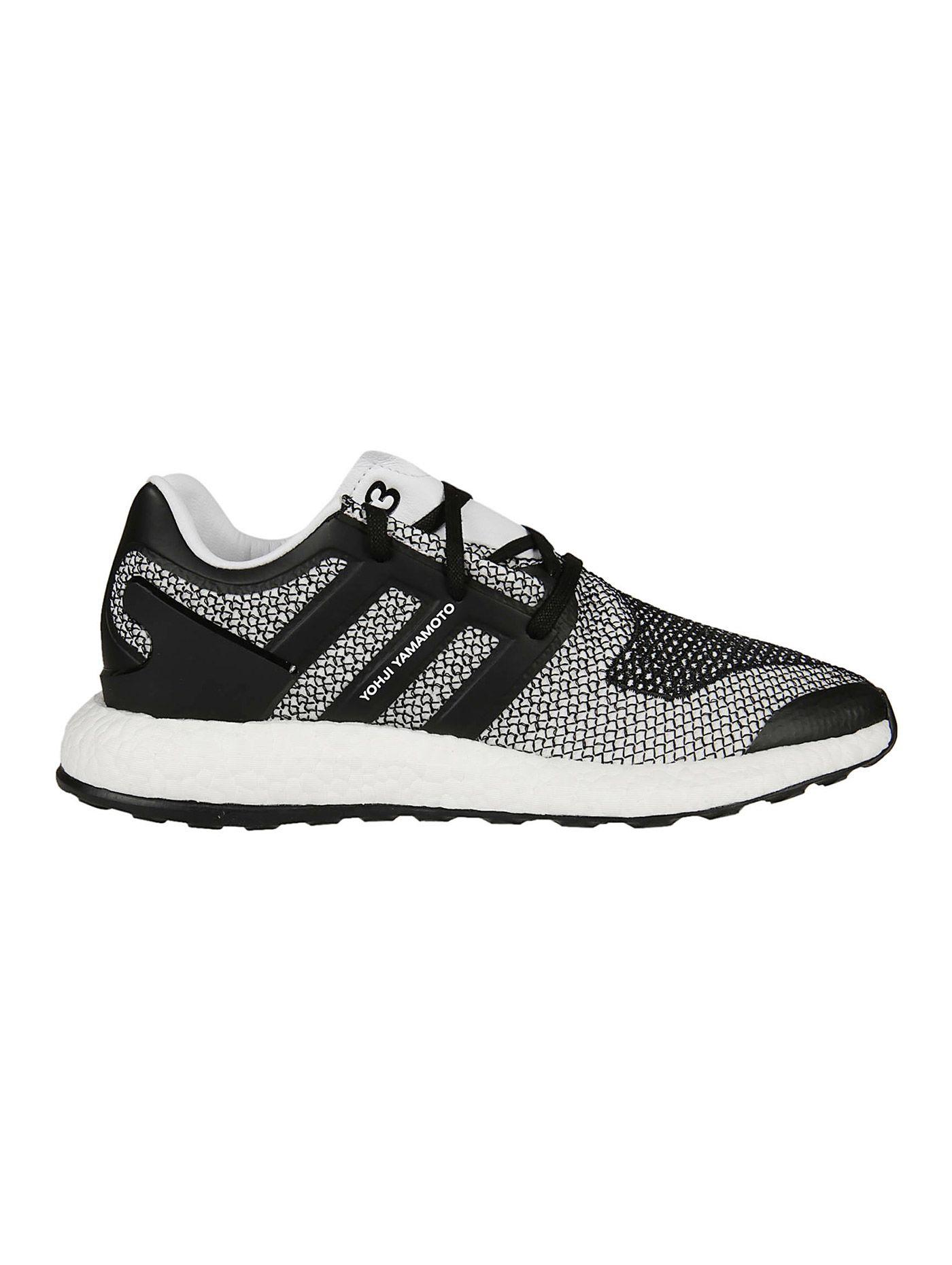a2a7b6b2e PUREBOOST SNEAKERS. Pureboost Sneakers from Y-3  White-Black ...