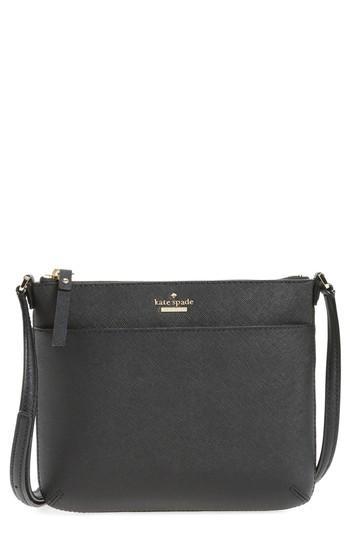 Kate Spade Jackson Street - Gabriele Leather Crossbody Bag - Pink In Tusk