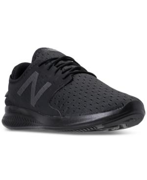 f4c198b380f3 New Balance Men's Coast V3 Running Sneakers From Finish Line In Black