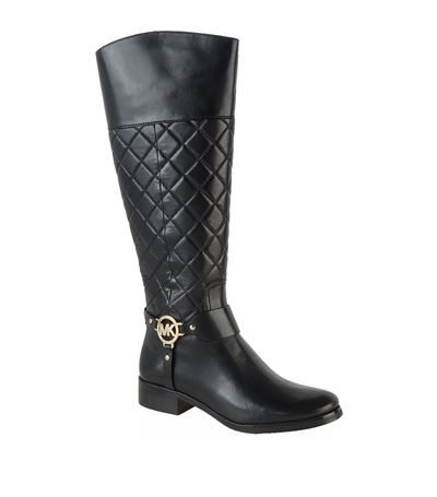 be7882eb0 Michael Michael Kors Fulton Harness Quilted Boot, Black | ModeSens