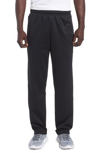 Nike Men's Therma Fleece Open-bottom Sweatpants In Black