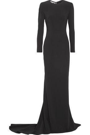 Stella Mccartney Woman Renee Cutout Stretch-cady Gown Black