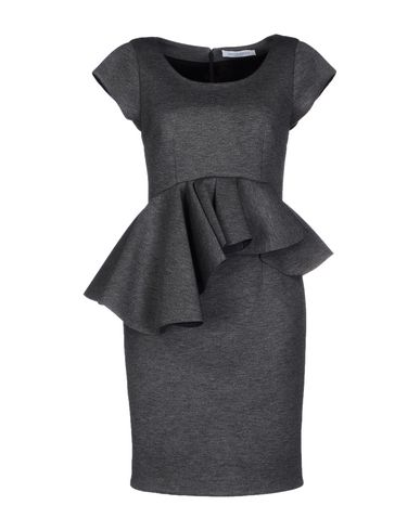 Viktor & Rolf Short Dress In Lead
