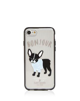 the latest 2c452 f460d KATE SPADE NEW YORK BONJOUR IPHONE 7/8 CASE
