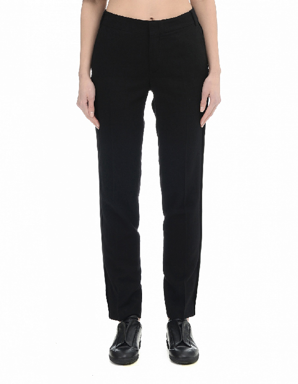 A.F.Vandevorst Wool Trousers In Black