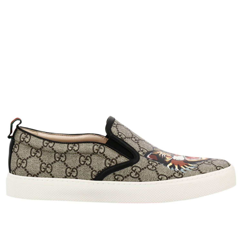 560bb799ba0 Gucci Dublin Gg Supreme Angry Cat Slip-On Sneaker