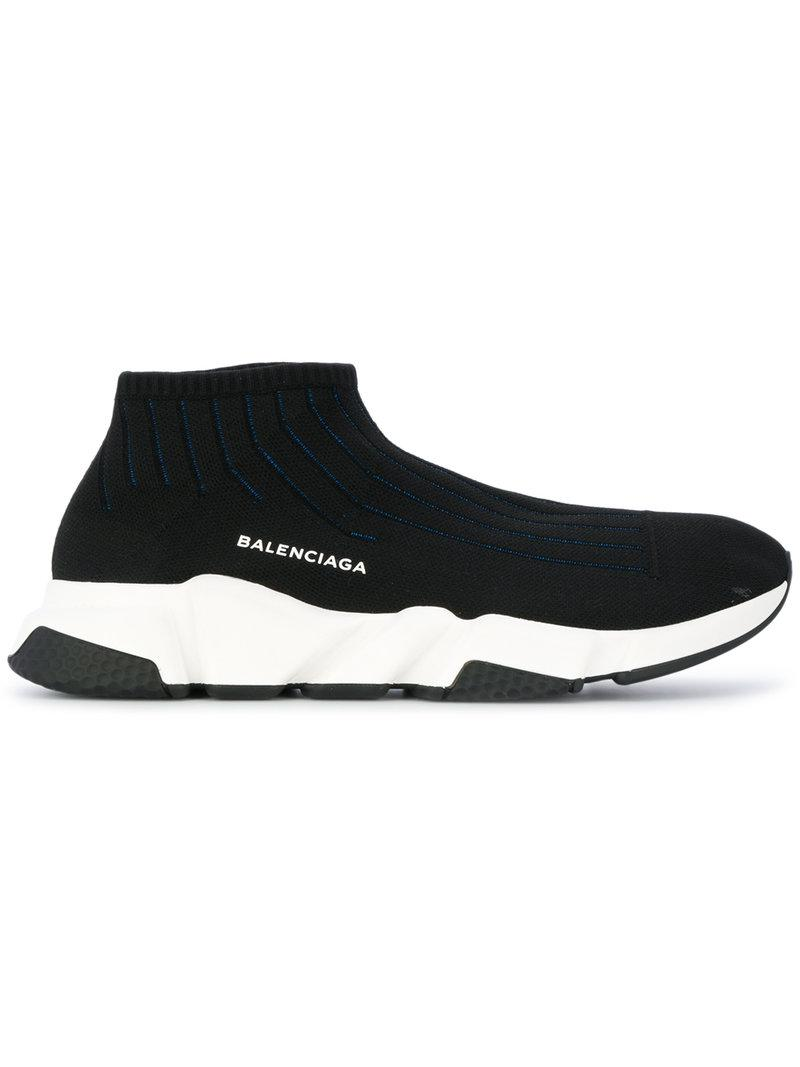 d4d5b7e2e310 Balenciaga Speed Knit Sneakers - Black | ModeSens