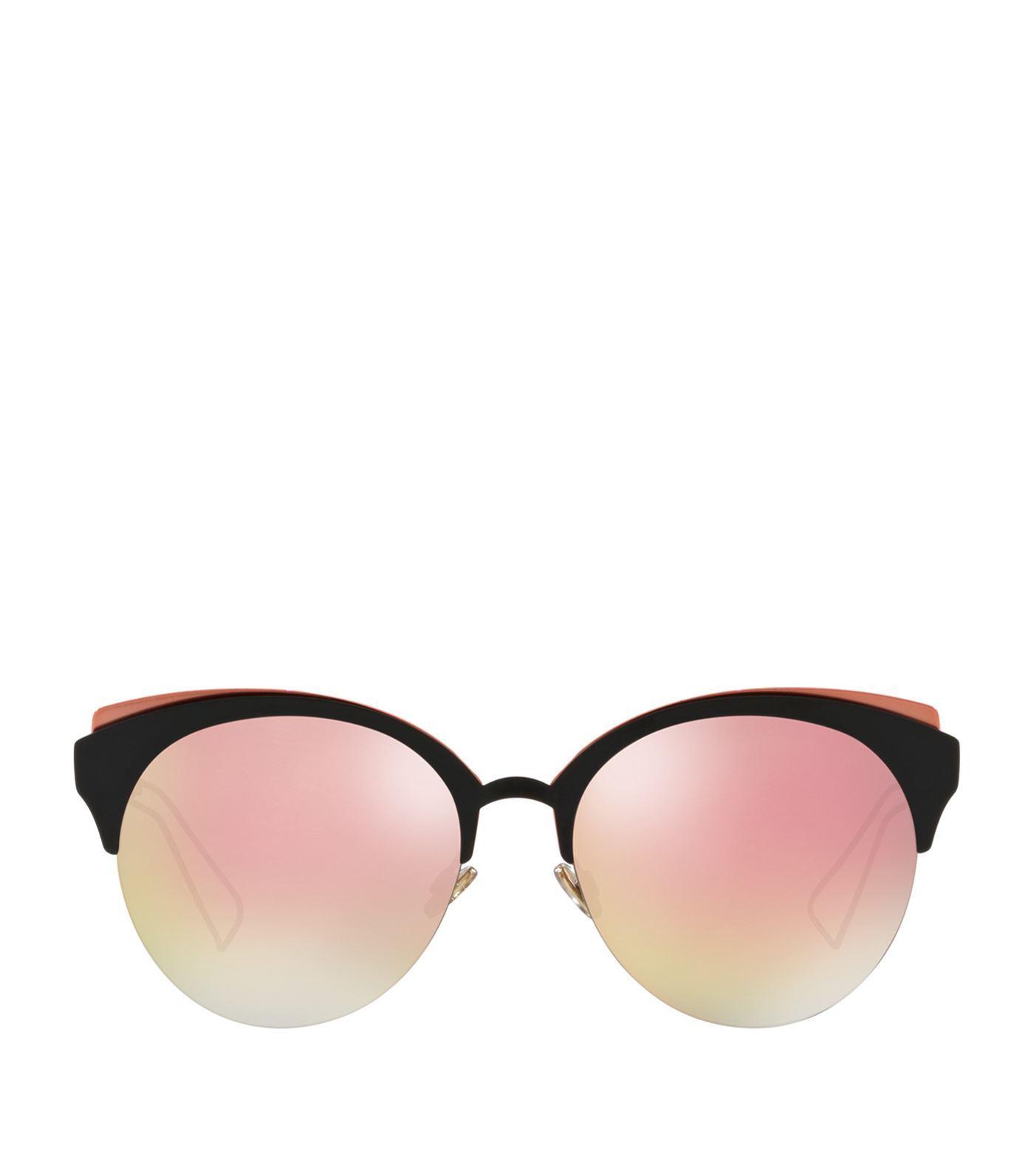 Dior Ama Club Metal Sunglasses In Black