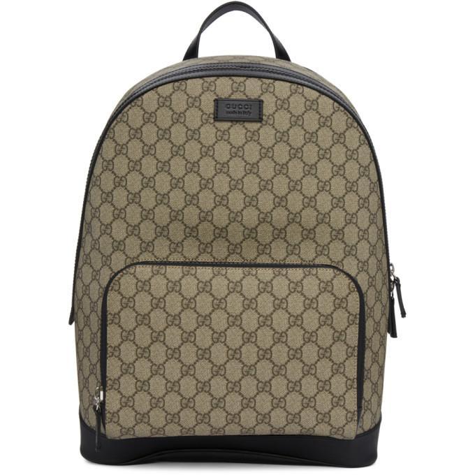 5047fc7aa84 Gucci Gg Supreme Print Backpack