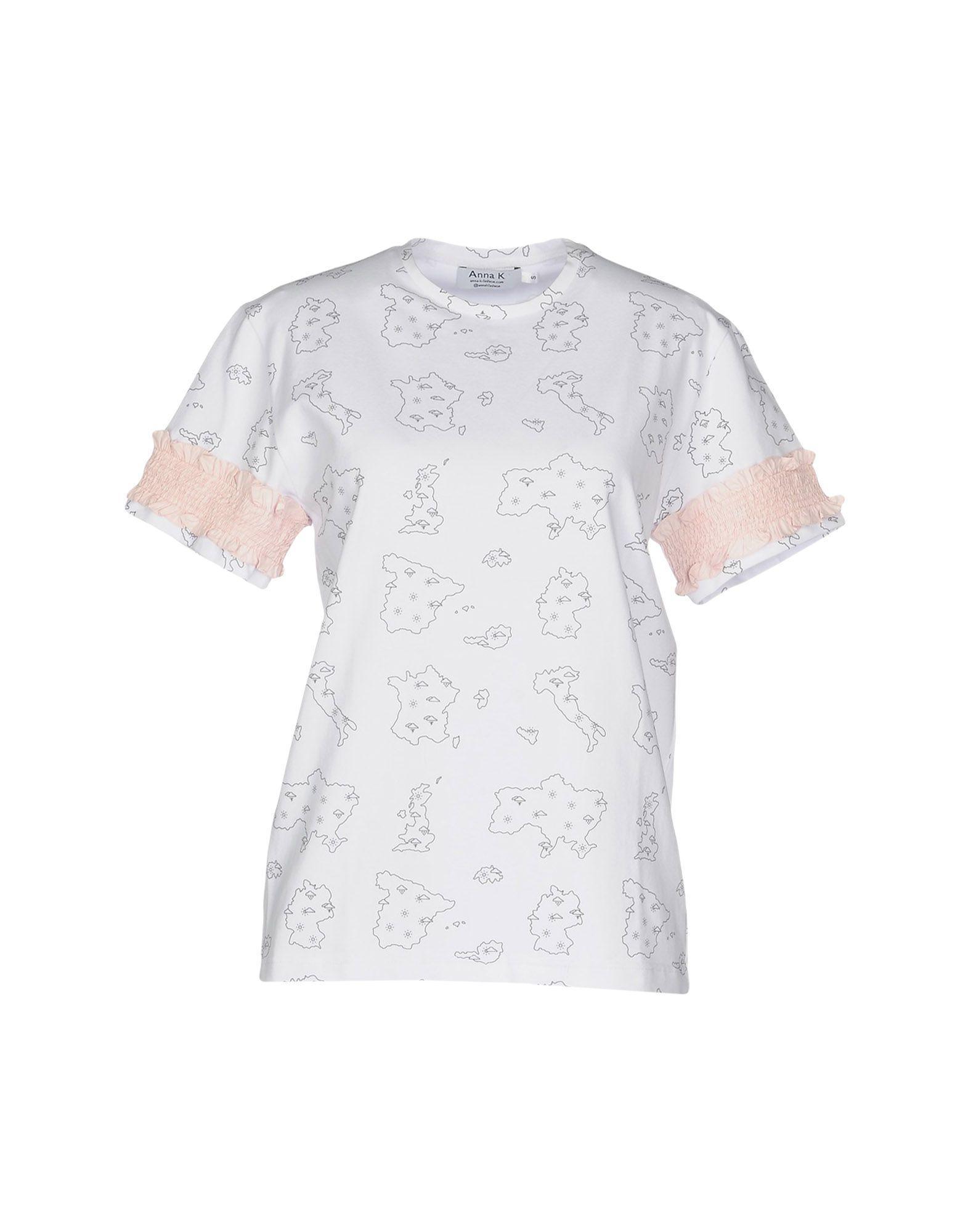 Anna K T-shirt In White
