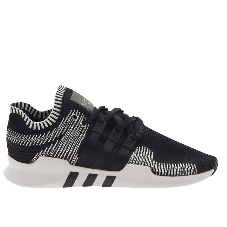 official photos f9bc2 e8cbd Adidas Originals Eqt Support Adv Primeknit Sneakers In Black By9390 - Black