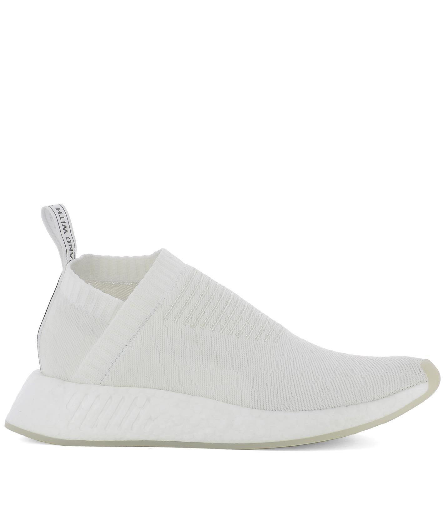 White Fabric Nmd Cs2 Pk W Sneakers