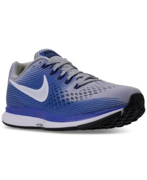 a2f7a69e5 Nike Men s Air Zoom Pegasus 34 Wide Width (4E) Running Sneakers From Finish  Line