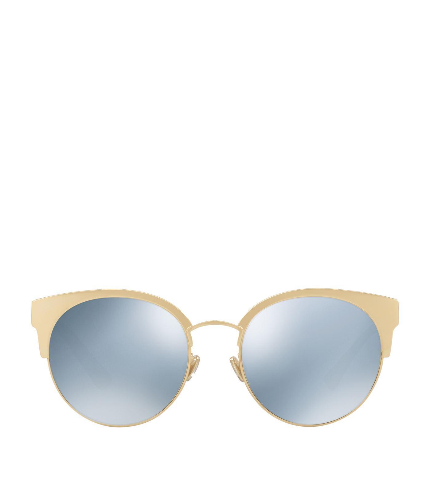 265a22ba76b7 Dior Ama Mirrored Mini Cat Eye Sunglasses