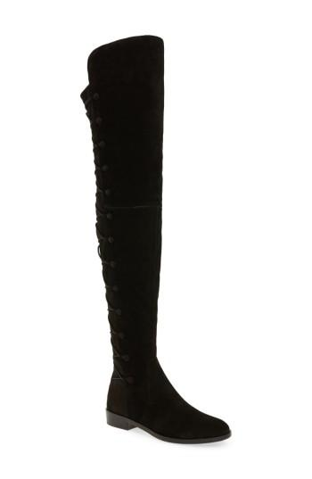 94edaec75bc Vince Camuto Croatia Over The Knee Boot In Black