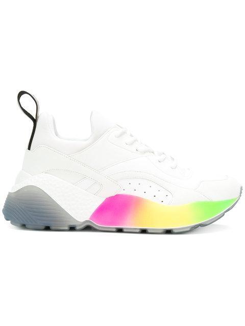 Stella Mccartney Women's Shoes Trainers Sneakers  Eclypse In 9041 Rainbo