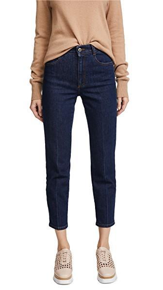 Stella Mccartney The High Waist Skinny Jeans In Midnight