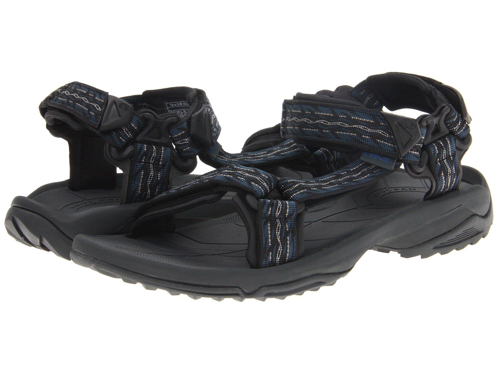 085c32ad0518 Teva Men s M Terra Fi 4 Water-Resistant Sandals Men s Shoes In Firetread  Midnight