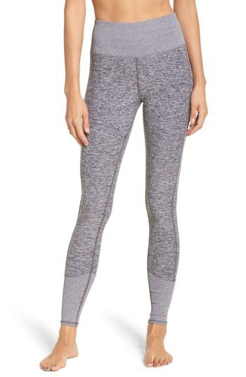 ac898b4c324a1a Alo Yoga Alo High Waist Lounge Legging In Gray. In Dove Grey Heather ...