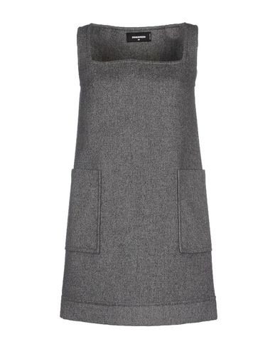 Dsquared2 Short Dress In Grey