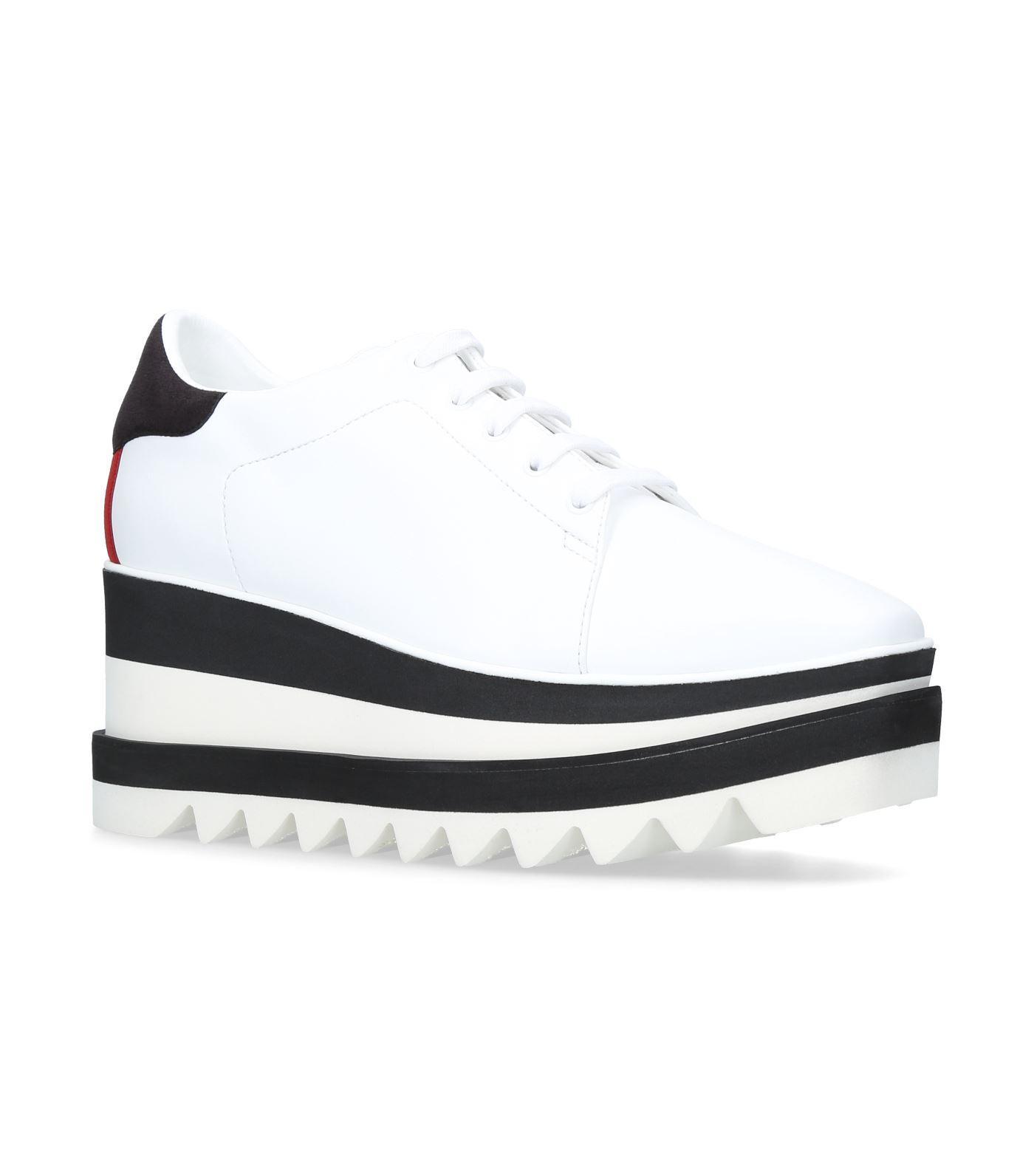 e6044a23849 Stella Mccartney Elyse Platform Sneakers In White