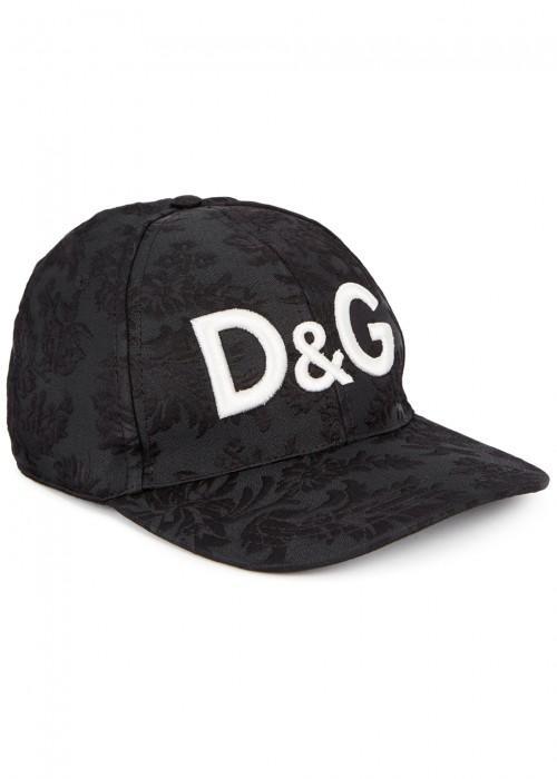 Dolce & Gabbana Dolce And Gabbana Black Logo Cap