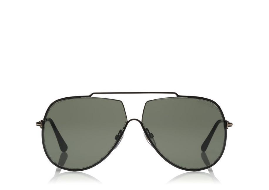 3fa4b3a13f0f TOM FORD. Men s Chase Brow Bar Aviator Sunglasses ...
