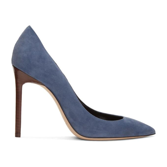 BlueModesens Saint In 85 Suede Anja Pumps Laurent v8PN0ynOmw
