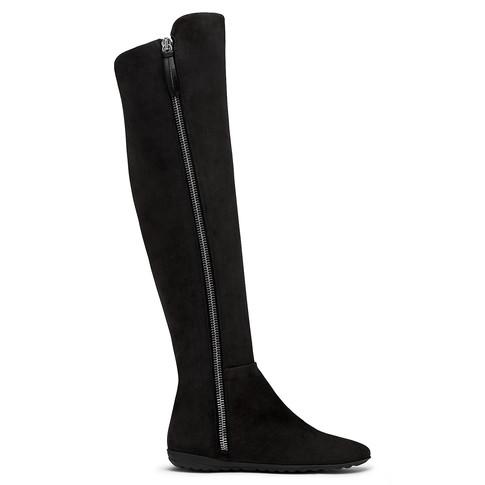 Giuseppe Zanotti - Black Calf Leather Boot With Side Zip Adrienne
