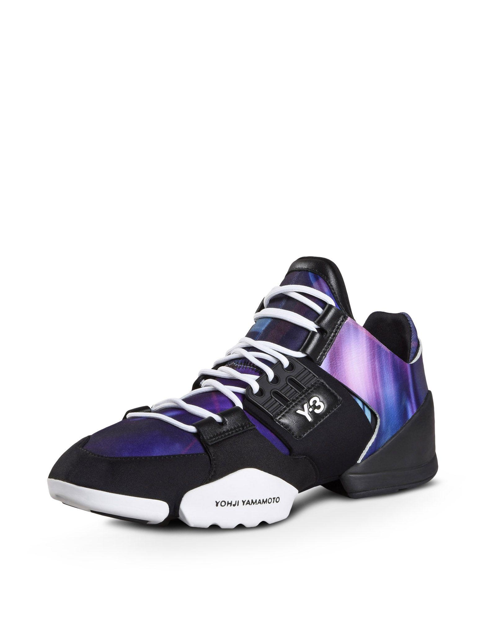 5bedd994330fe Y-3 Kanja Chunky Sneakers In Continuum Core Black