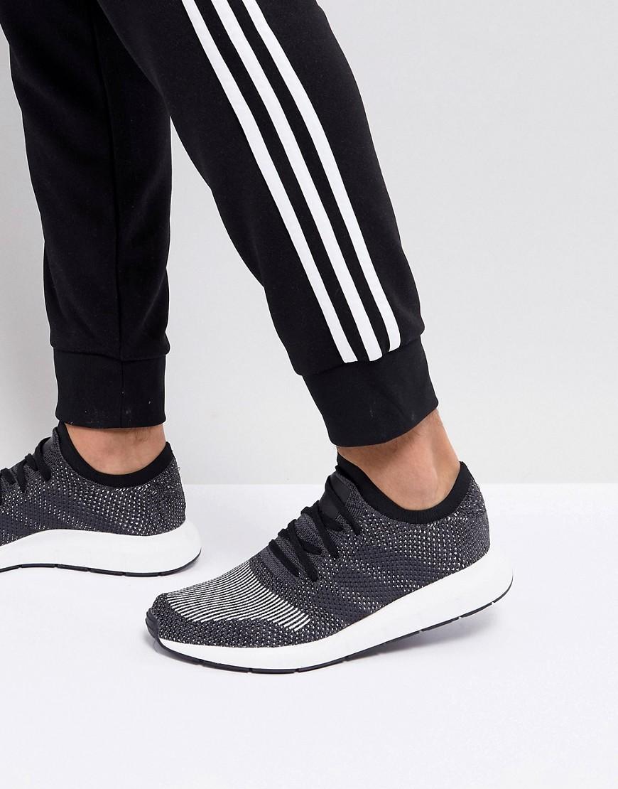f7b1520f4467d Adidas Originals Swift Run Sneakers In White Cq2116 - Gray