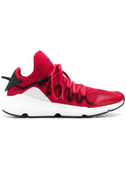 Y-3 Kusari Sneakers In Red