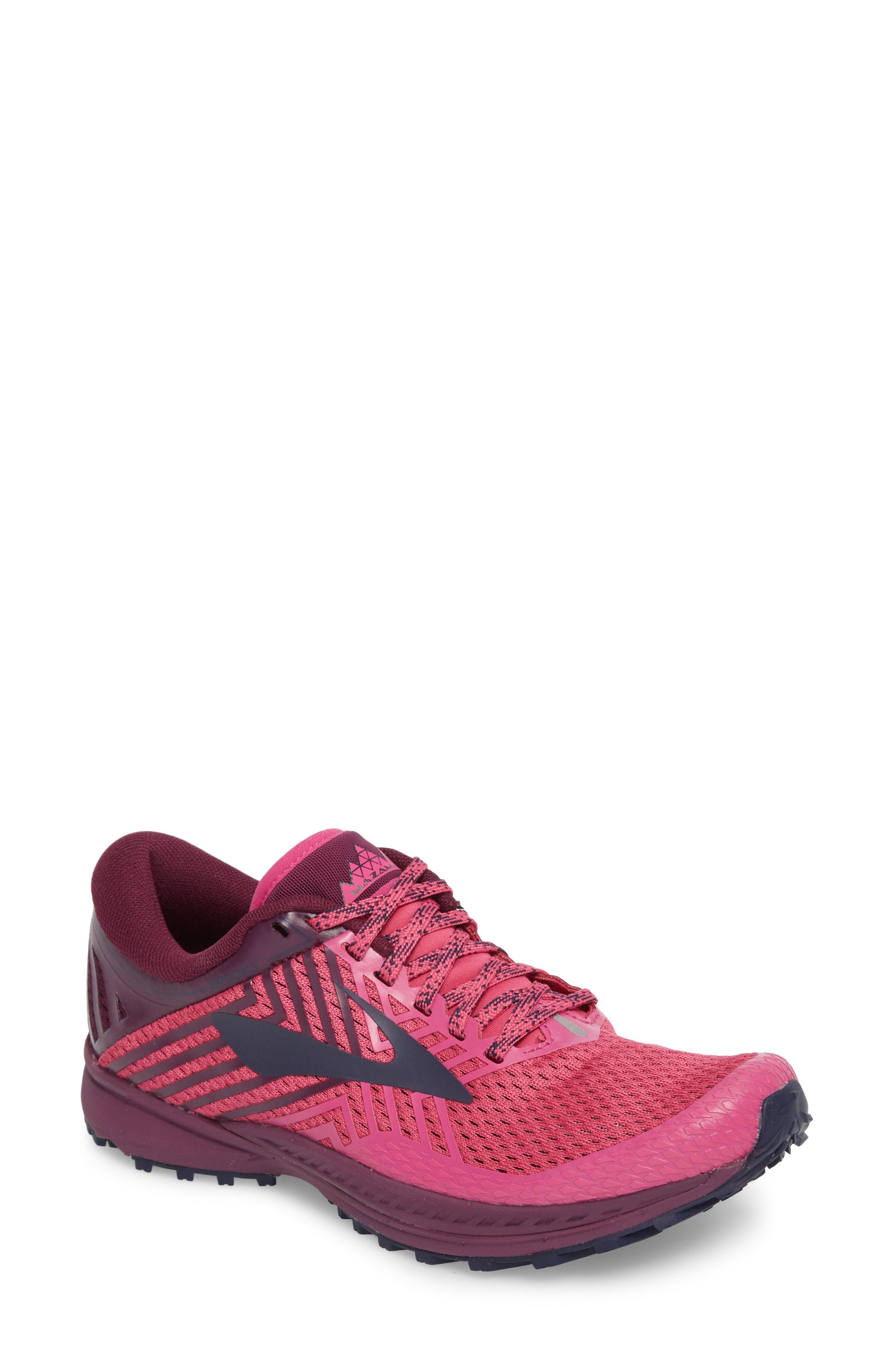 c50cc803ff8 Brooks Mazama 2 Trail Running Shoe In Pink Plum Navy