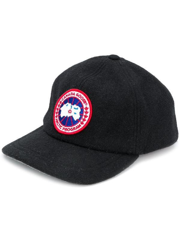 bd9c642d2a392 Canada Goose Core Logo Patch Cap