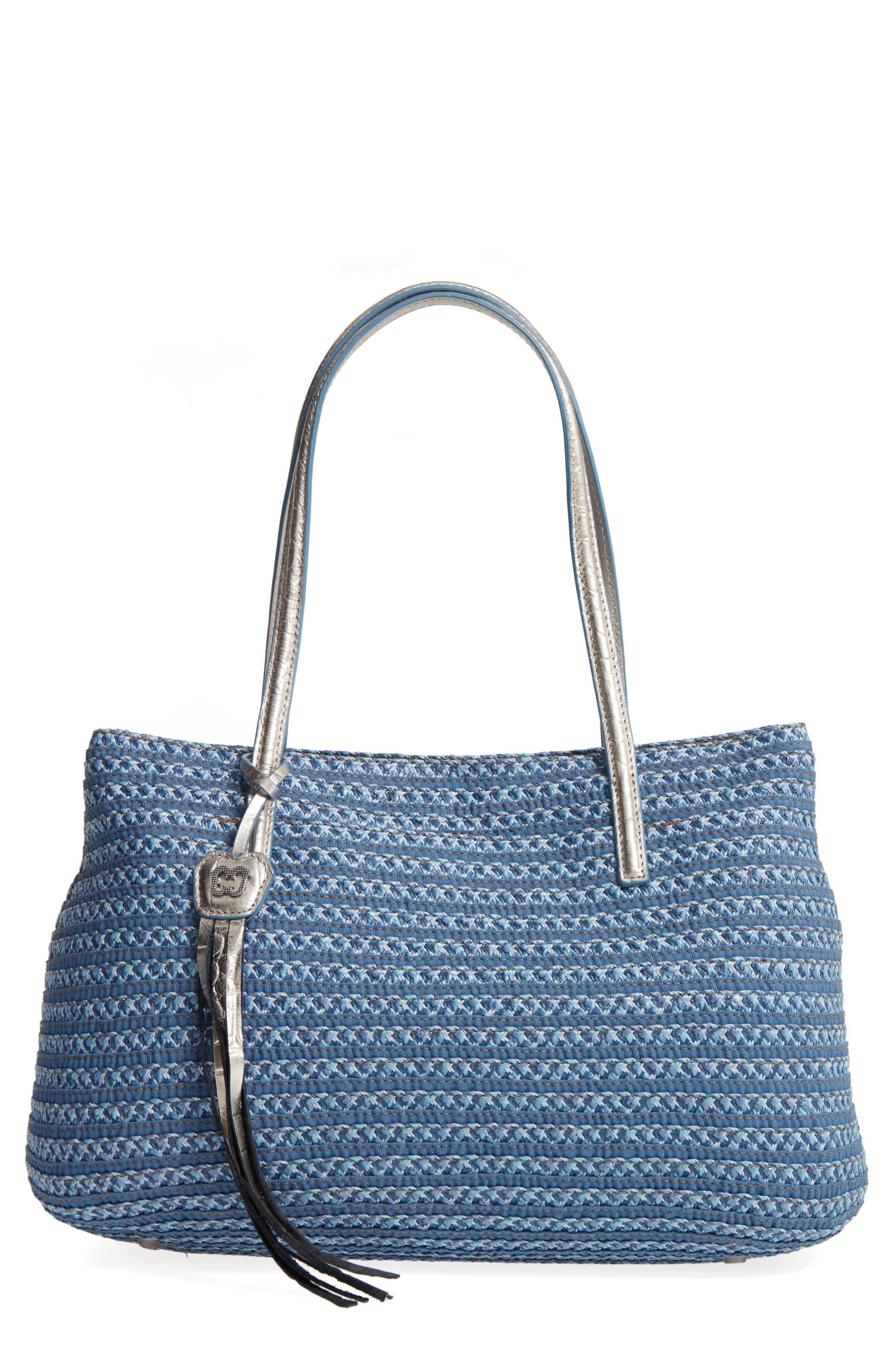b234ed4bb35c Eric Javits Dame Brooke Squishee Tote Bag In Blue | ModeSens