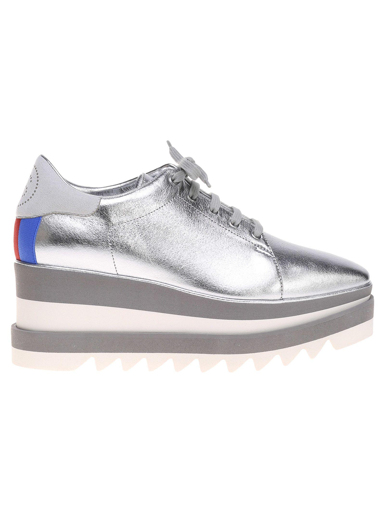 d963dfa101af Stella Mccartney Sneak-Elyse Faux-Leather Platform Trainers In ...