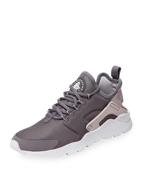 09180e34812e Nike Women s Air Huarache Run Ultra Running Sneakers From Finish Line In  Gunsmoke Vast Grey
