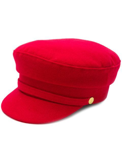 Manokhi 经典鸭舌帽 In Red