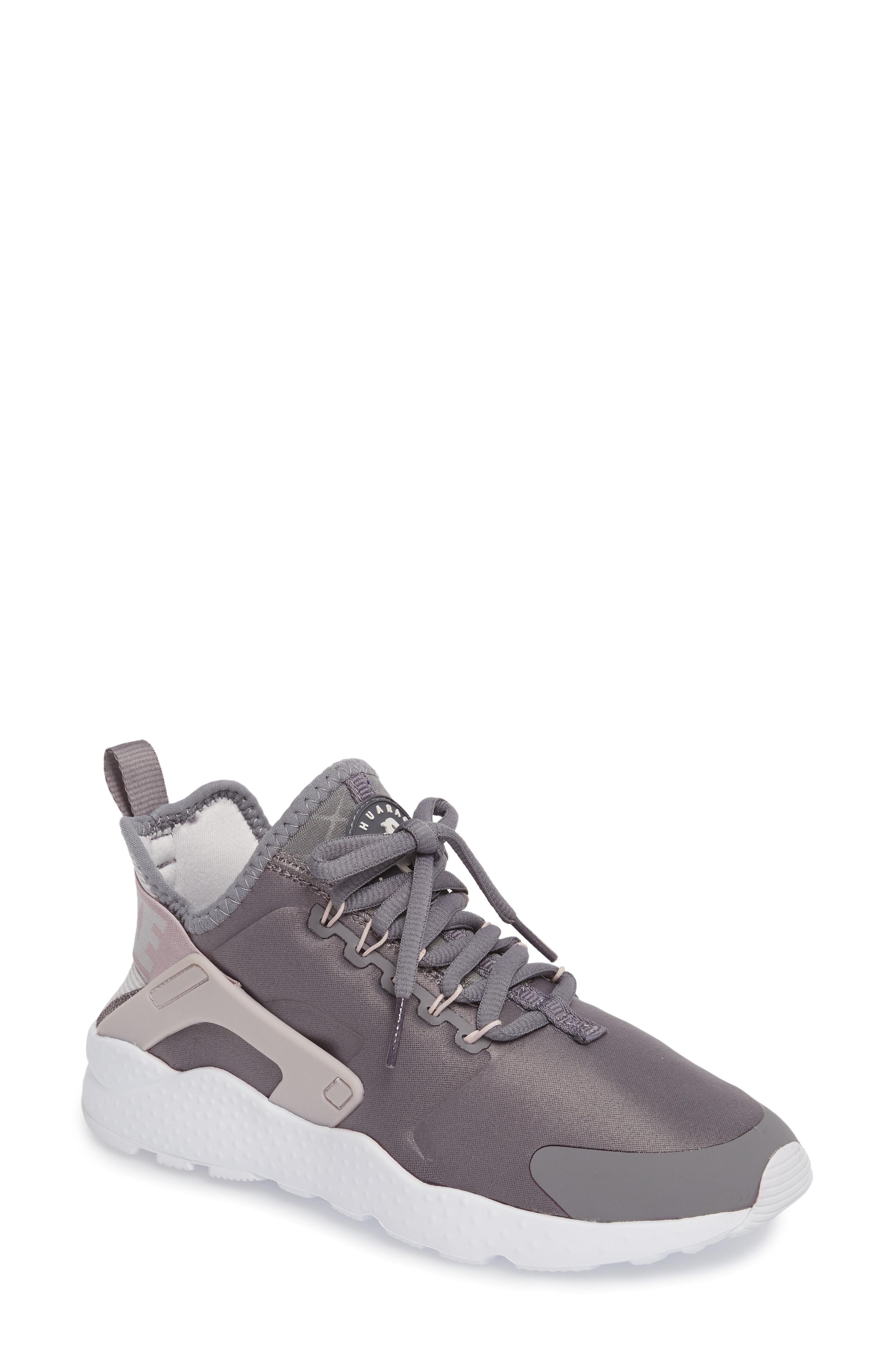 4d585aba5c5f Nike Women s Air Huarache Run Ultra Running Sneakers From Finish Line In  Gunsmoke Vast Grey