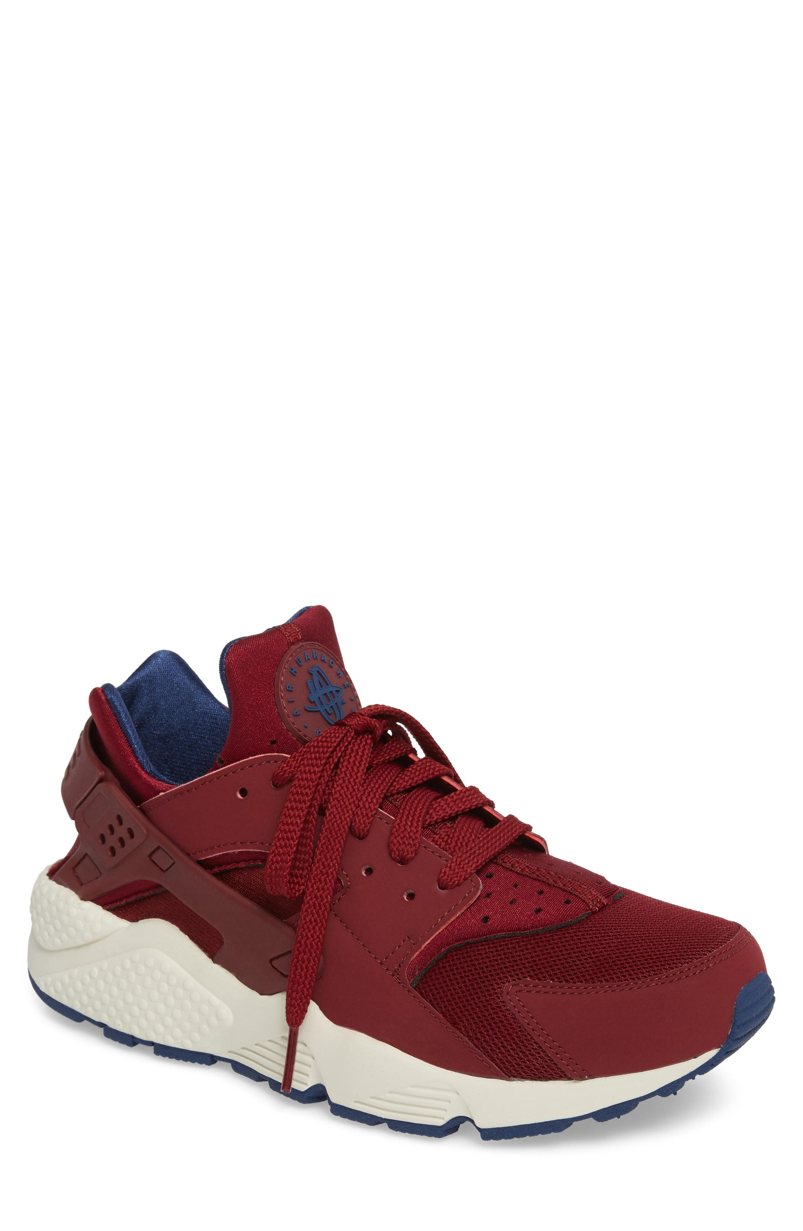 d0fc52ab7ab70 Nike Men s Air Huarache Run Running Sneakers From Finish Line In Team Red Team  Red