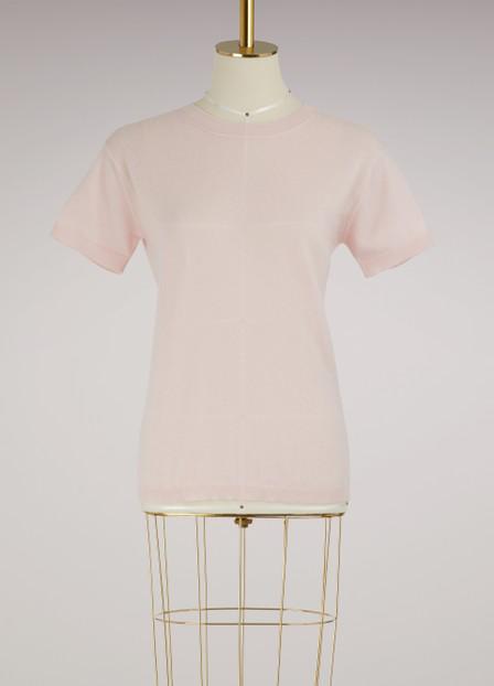 Alexandra Golovanoff AndrÉ 3/4 Sleeved Pullover In Light Pink