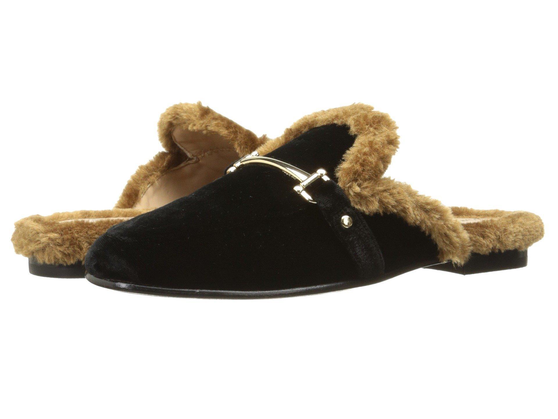 cb00b3a6e1f5 Sam Edelman Danica Faux Fur Slippers In Black