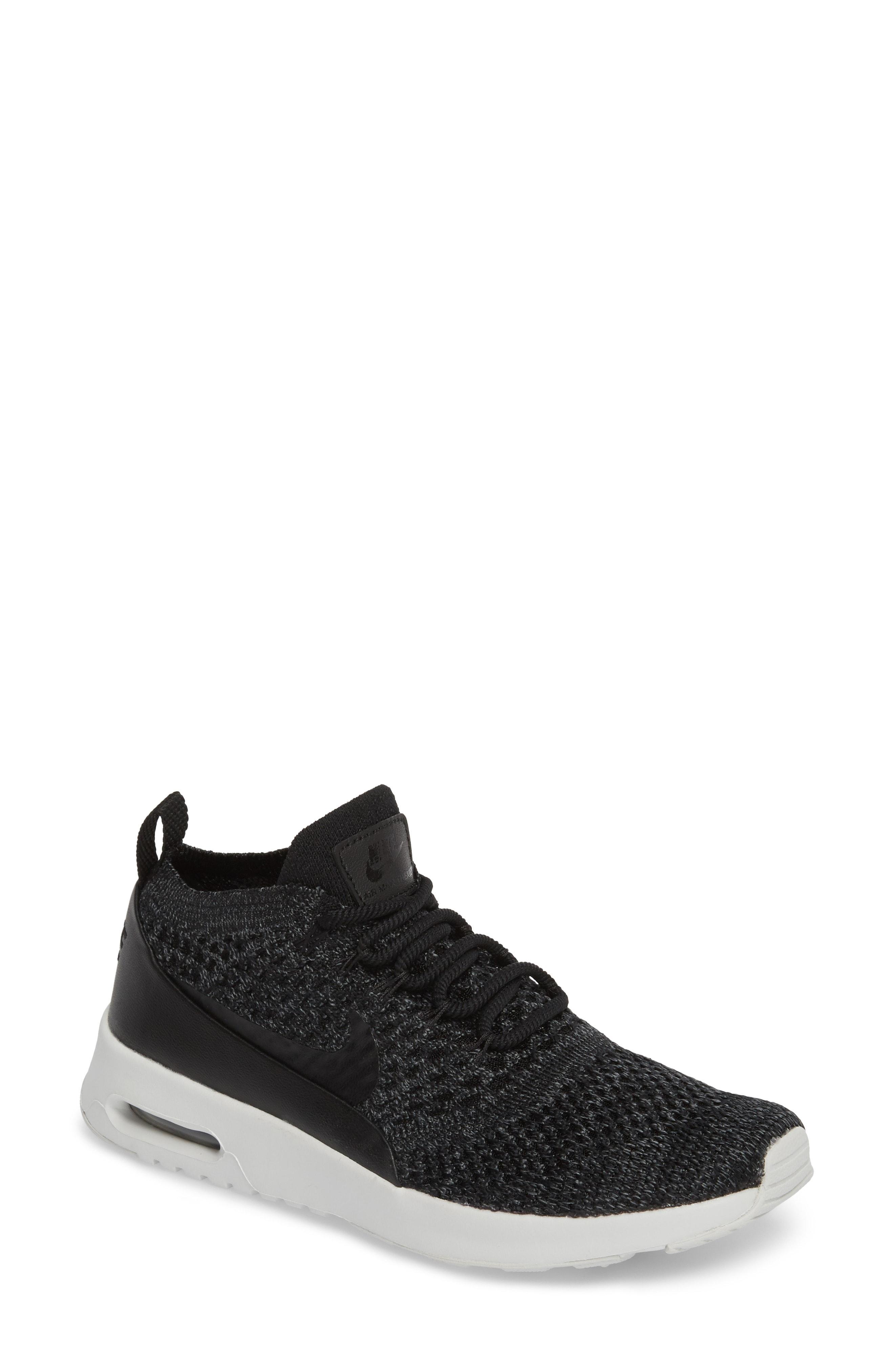 sale retailer eae0e 6b5ad Nike Women s Air Max Thea Ultra Flyknit Lace Up Sneakers In Geranium   Geranium