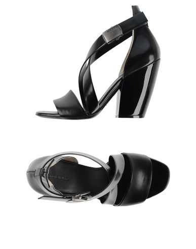 Diesel Sandals In Black